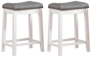 black leather swivel bar stools
