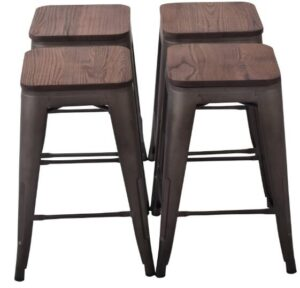 best 26 inch backless counter stools