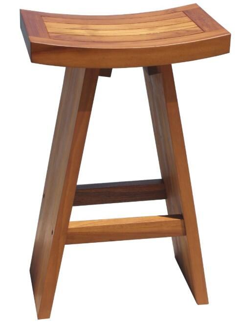 tufted backless bar stools