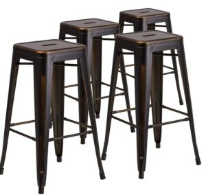 backless saddle counter stools
