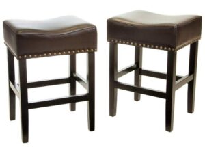 best backless leather bar stools