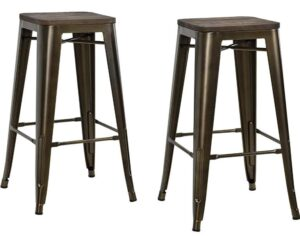 best backless metal bar stools
