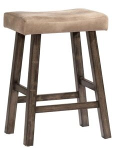 best backless saddle bar stools