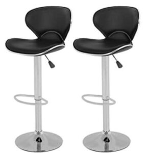 swivel bar height stools
