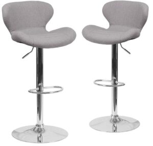 grey bar chairs