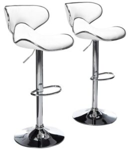 leather swivel bar stools