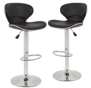 24 metal bar stools with back