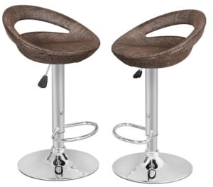 Astounding 20 New Best Swivel Bar Stools Reviews Definitive Guides 2019 Bralicious Painted Fabric Chair Ideas Braliciousco