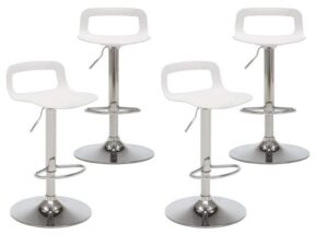 contemporary swivel bar stools