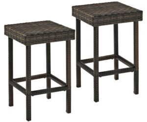 rattan counter height chairs