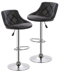 padded swivel bar stools