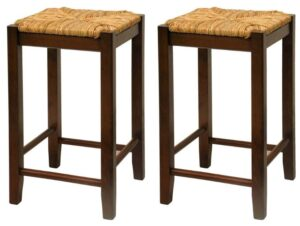 padded bar stools no back