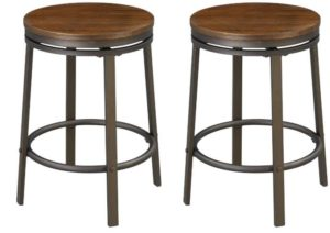 wooden kitchen bar stools