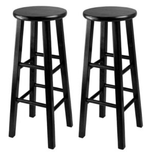black backless bar stools