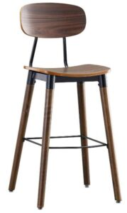 best cheap wooden bar stools with backs