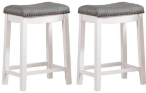 grey backless bar stools