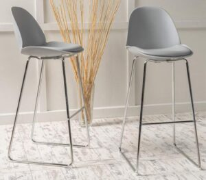 best gray bar stools
