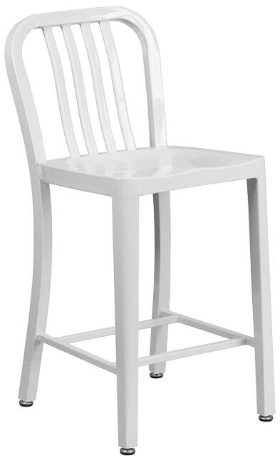 white bar chairs