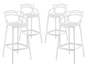 molded plastic bar stools