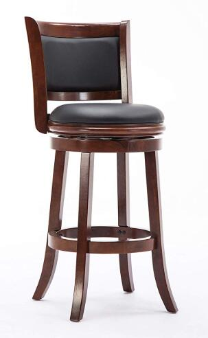 swivel top bar stools