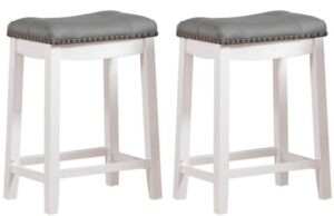 backless cushioned bar stools