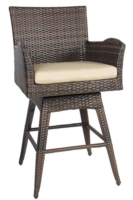 padded swivel bar stools with arms