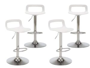 plastic bar stools with backs