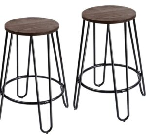 best round backless bar stools