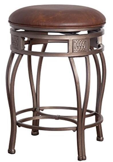 round swivel backless bar stools