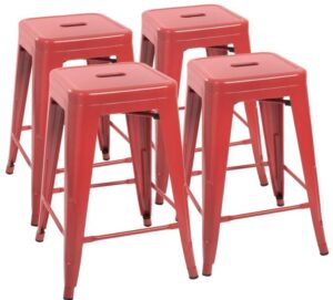 best square backless bar stools