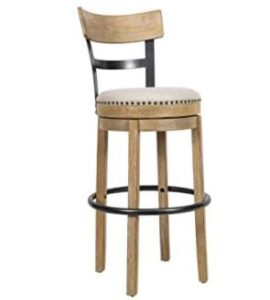 compact swivel round bar stools