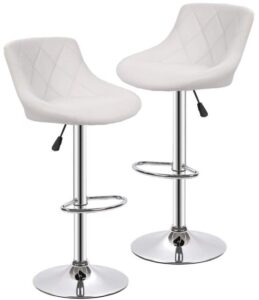 huge selection of c6f44 87357 18 AWESOME Reviews On Most Comfortable Bar Stools Ever [2019 ...