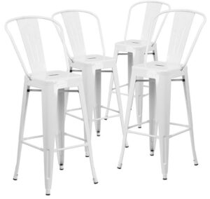 cheap white bar stools