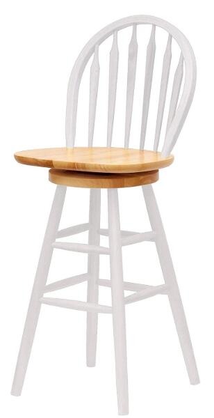 white oak bar stools