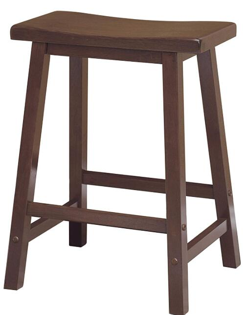 tall wooden bar stools