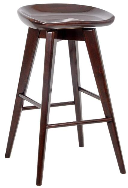 wooden high stools for kitchen