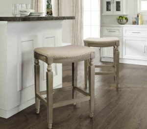 padded backless bar stools