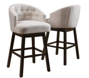 bar height stools with arms