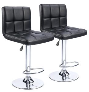 acrylic adjustable bar stools