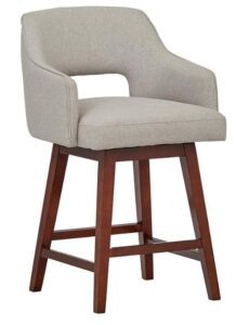 counter height swivel bar stools with backs