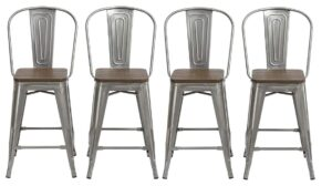 Industrial Bar Stools With Backs