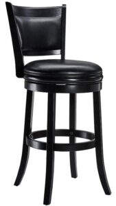 best black bar stools with back