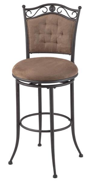 brown breakfast bar stools