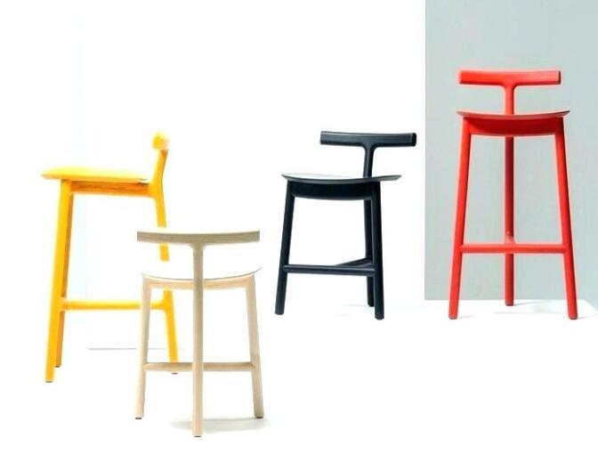 coloured bar chairs