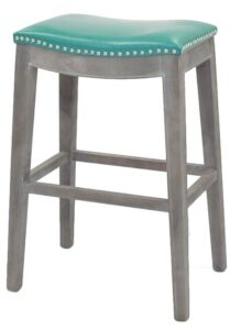 30 Inch Swivel Cushioned Bar Stool