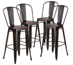Tall Bar Stools With Backs