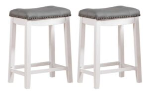 counter height bar stools no back