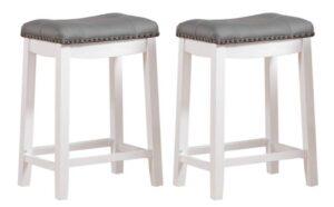 counter height bar stools no back