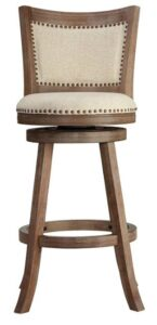 best country bar stools with back