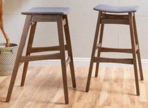 Leather Counter Height Bar Stools
